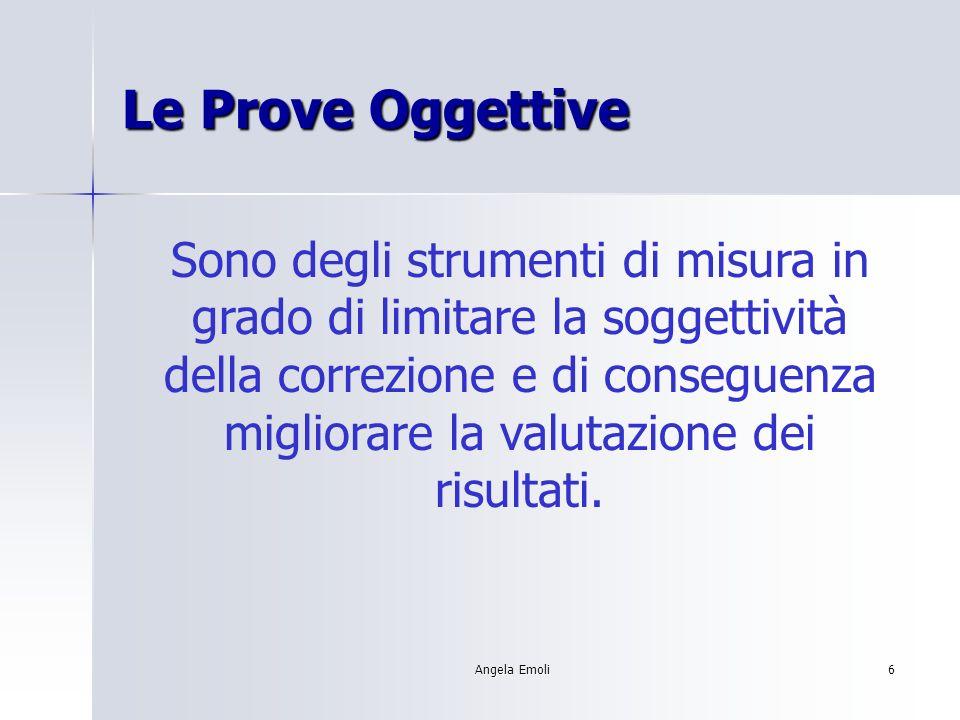 Le Prove Oggettive