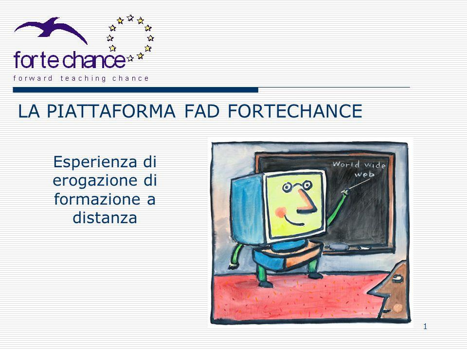 LA PIATTAFORMA FAD FORTECHANCE