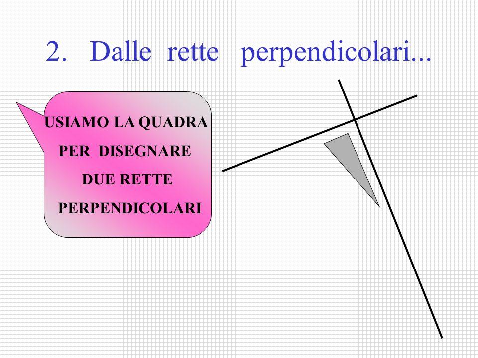 2. Dalle rette perpendicolari...