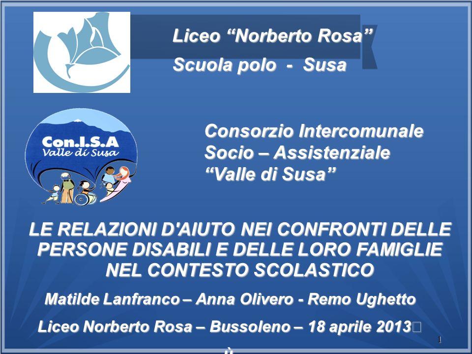 Consorzio Intercomunale Socio – Assistenziale Valle di Susa