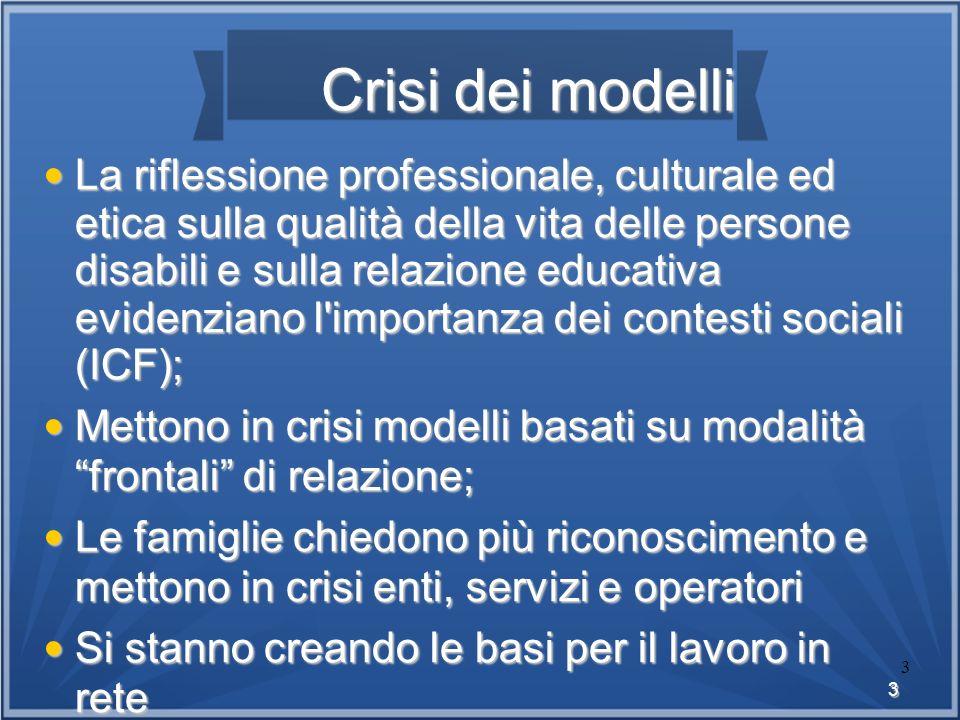 Crisi dei modelli