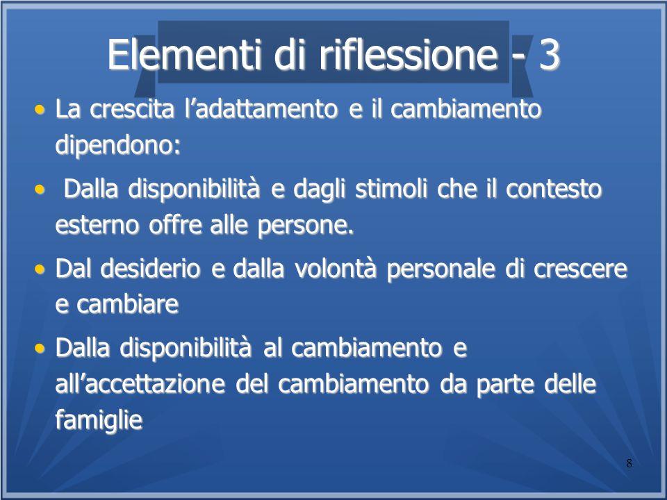 Elementi di riflessione - 3