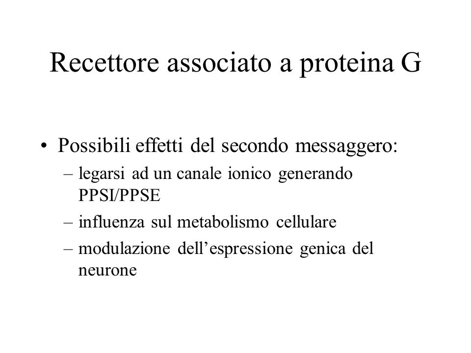 Recettore associato a proteina G
