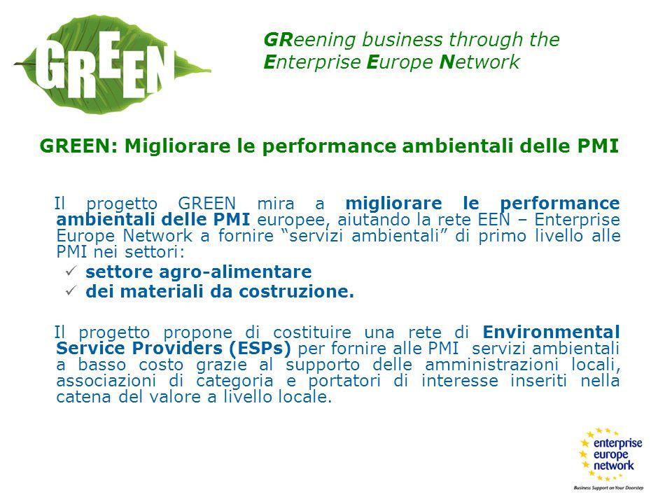 GREEN: Migliorare le performance ambientali delle PMI
