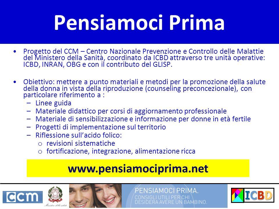 Pensiamoci Prima www.pensiamociprima.net