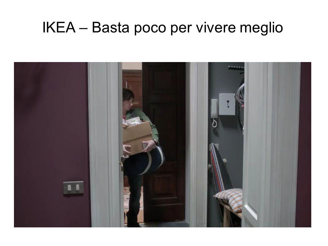 IKEA – Basta poco per vivere meglio