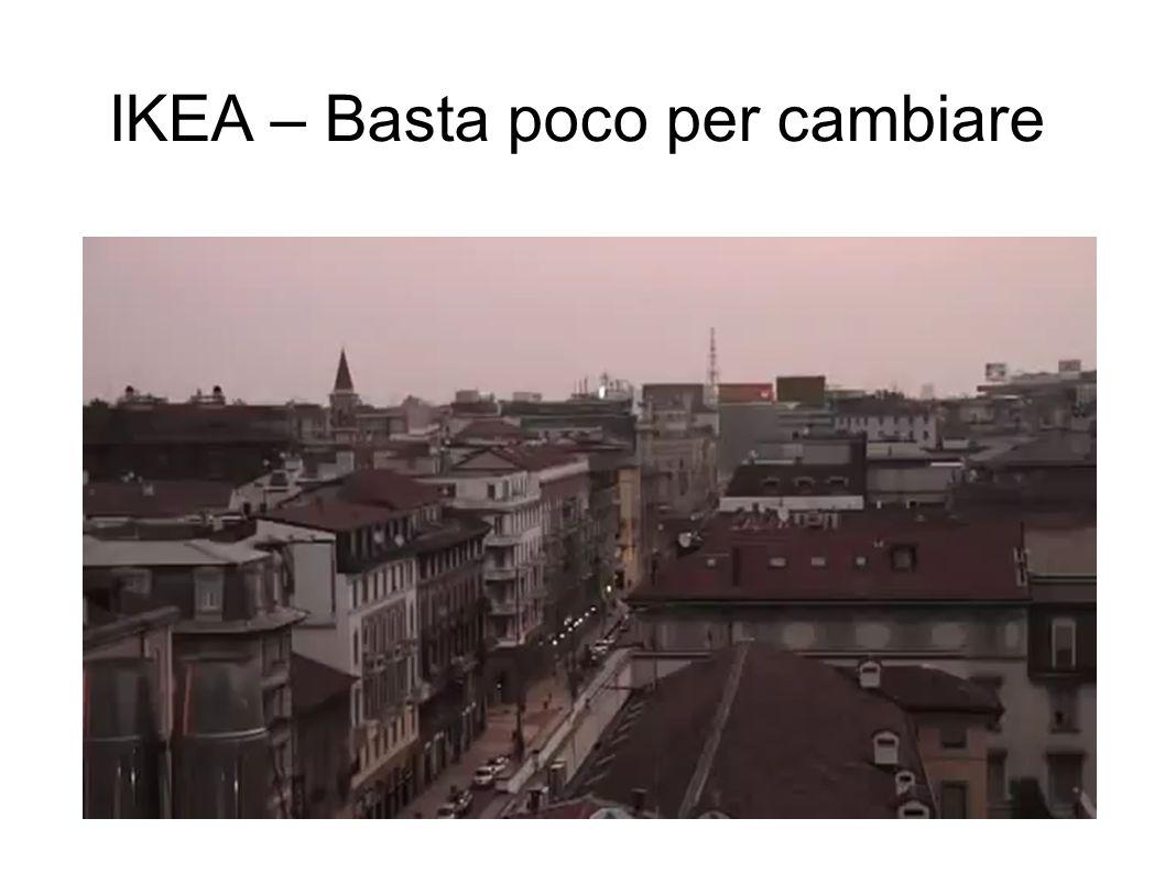 IKEA – Basta poco per cambiare
