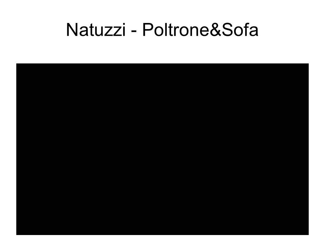 Natuzzi - Poltrone&Sofa