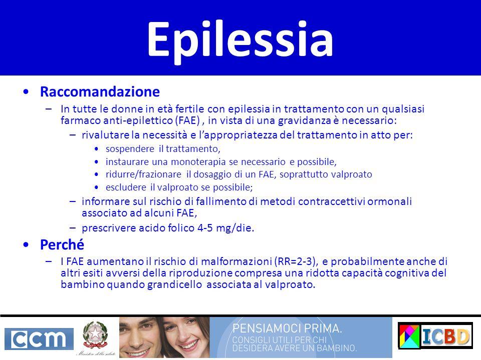 Epilessia Raccomandazione Perché