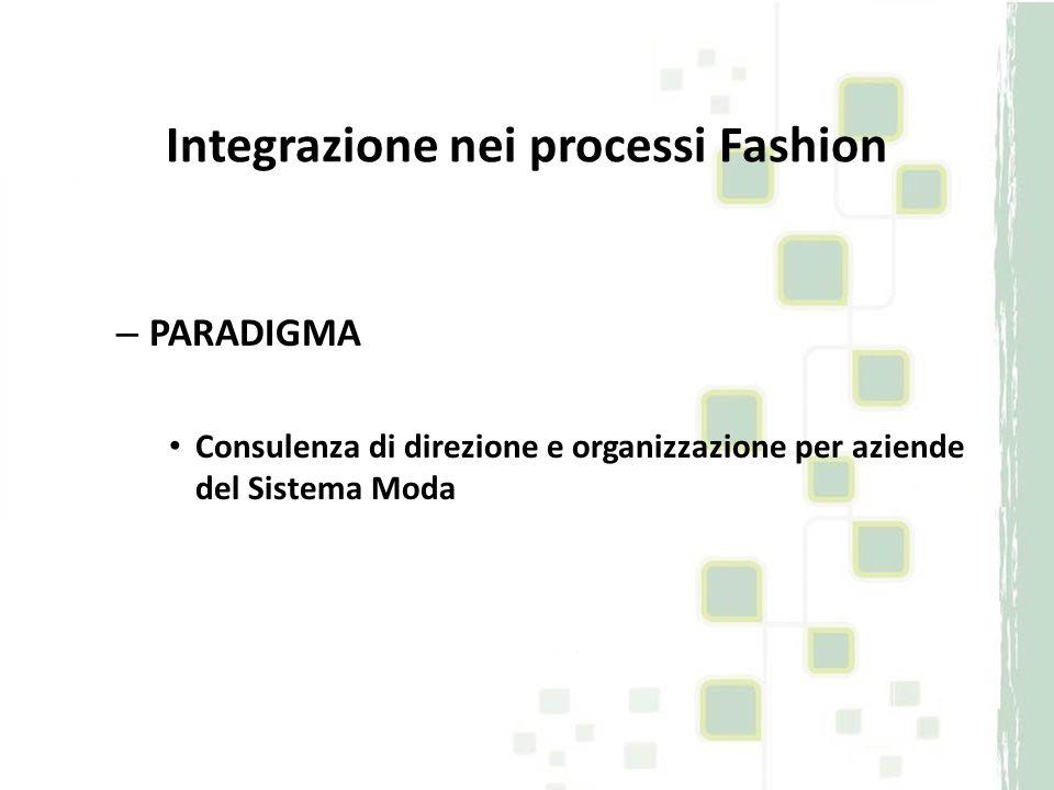 Integrazione nei processi Fashion