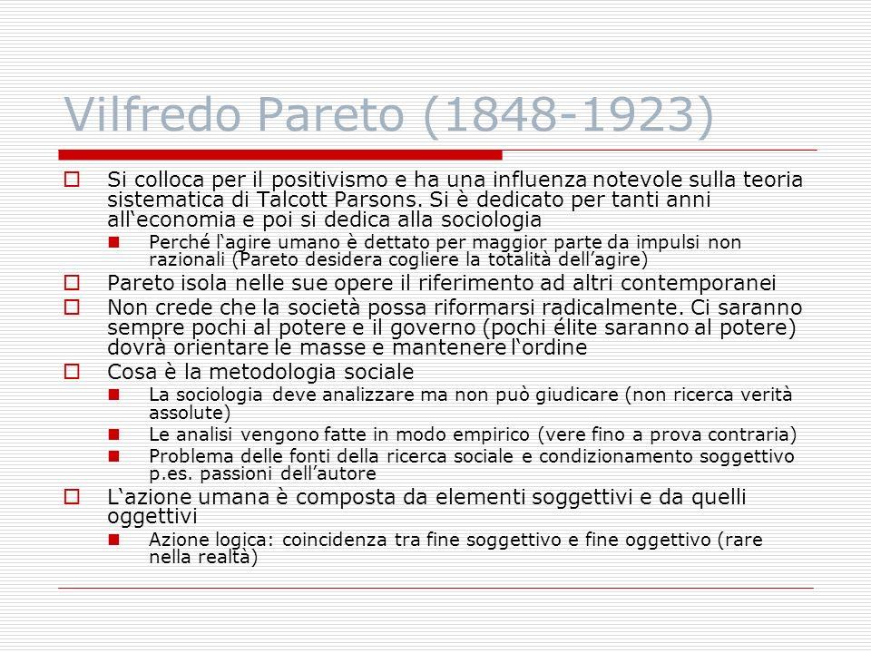Vilfredo Pareto (1848-1923)