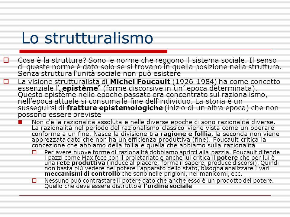 Lo strutturalismo