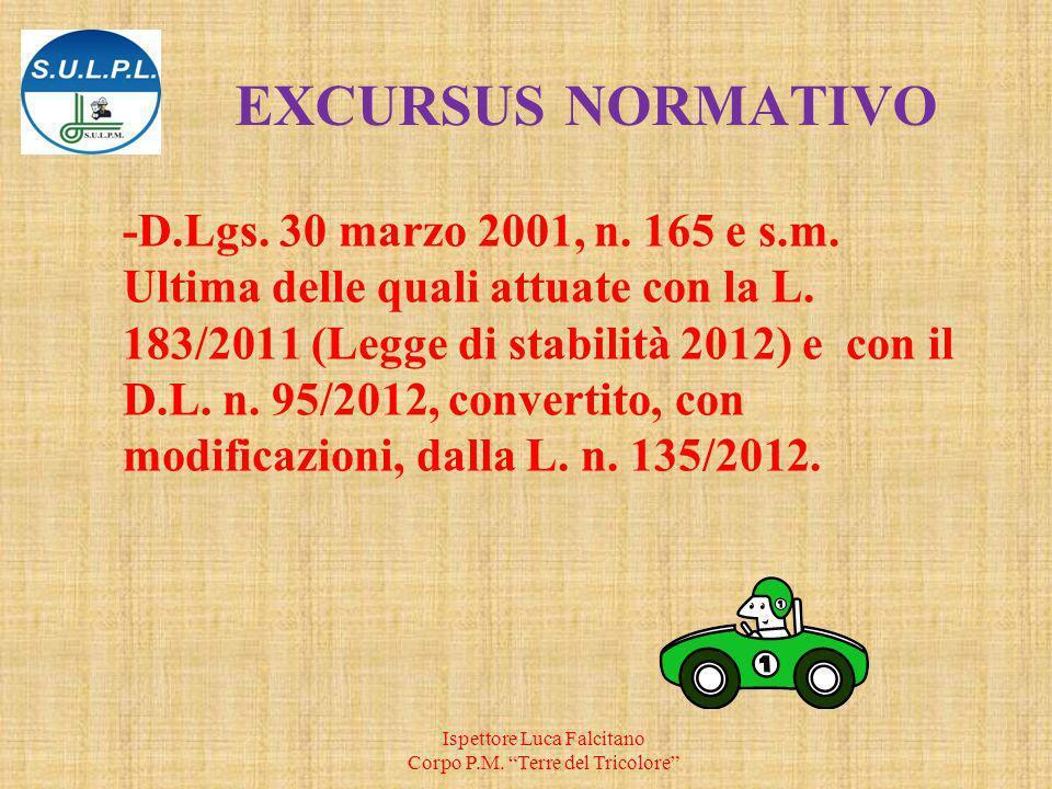 EXCURSUS NORMATIVO