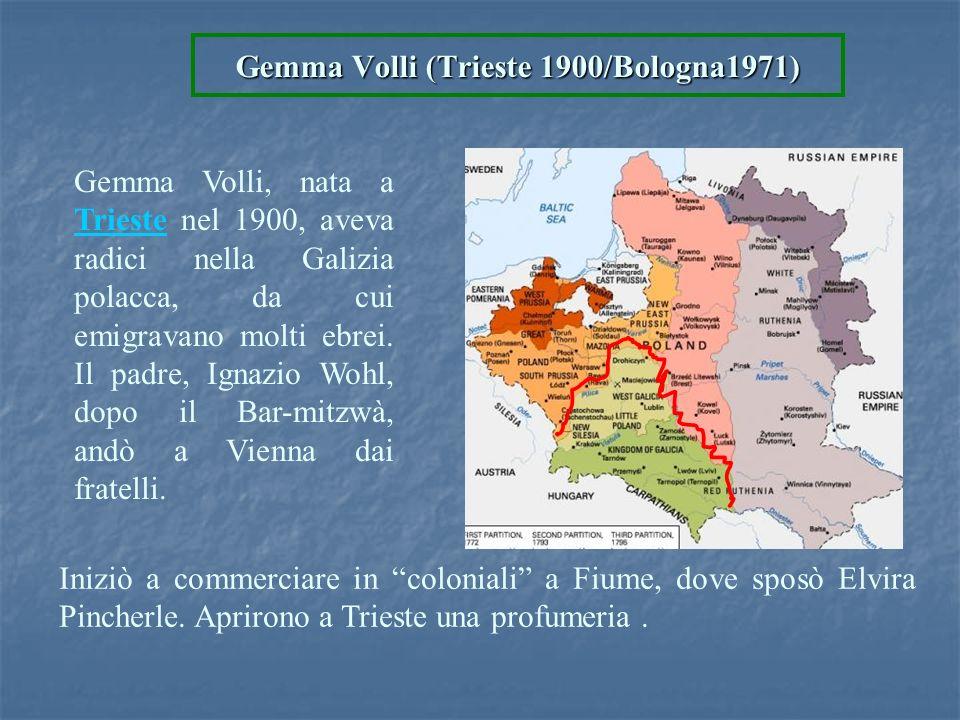 Gemma Volli (Trieste 1900/Bologna1971)