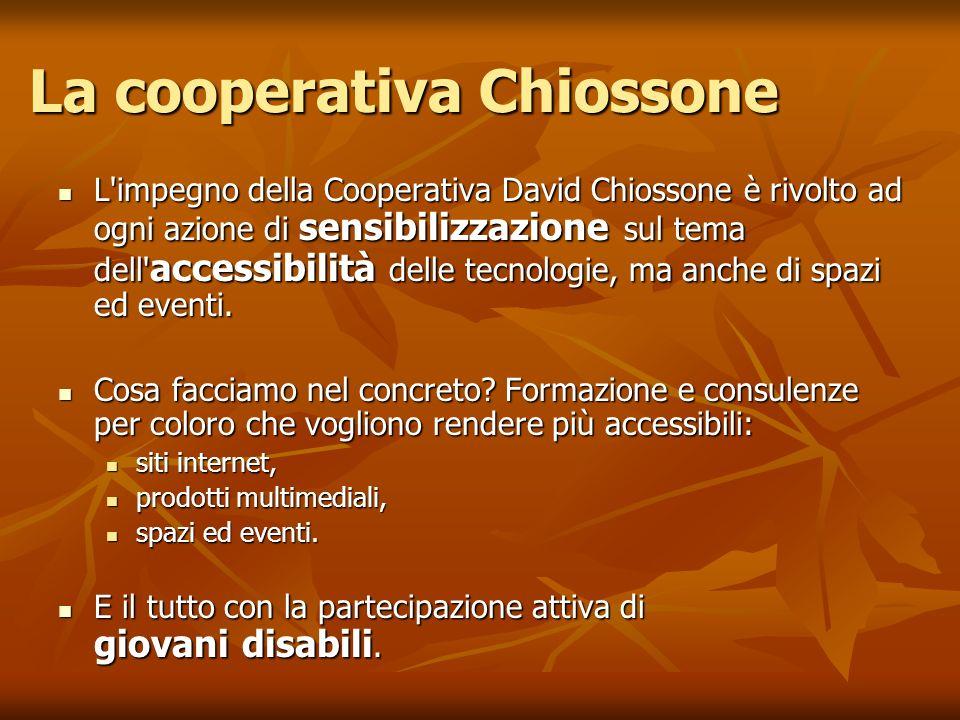 La cooperativa Chiossone