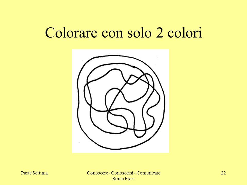 Colorare con solo 2 colori