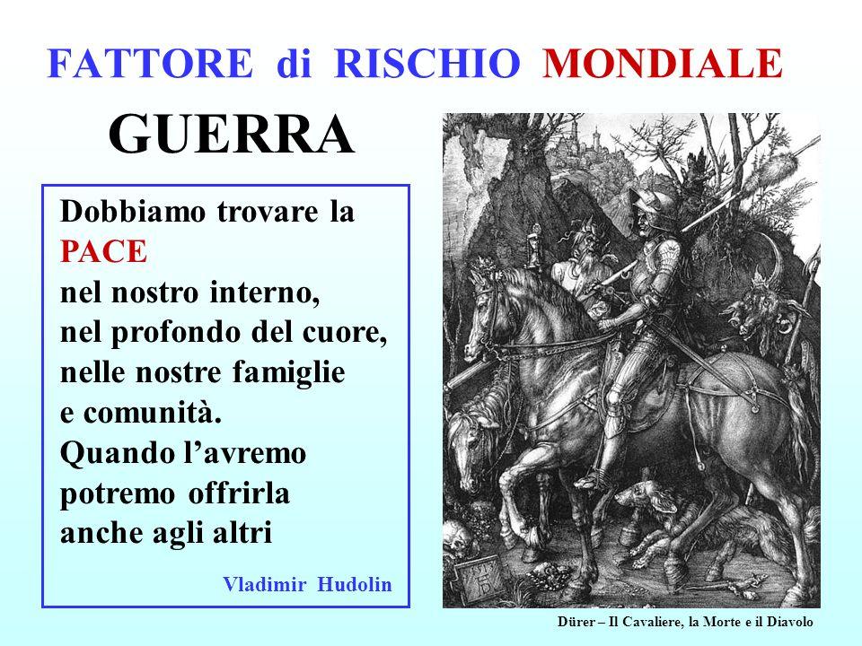 FATTORE di RISCHIO MONDIALE