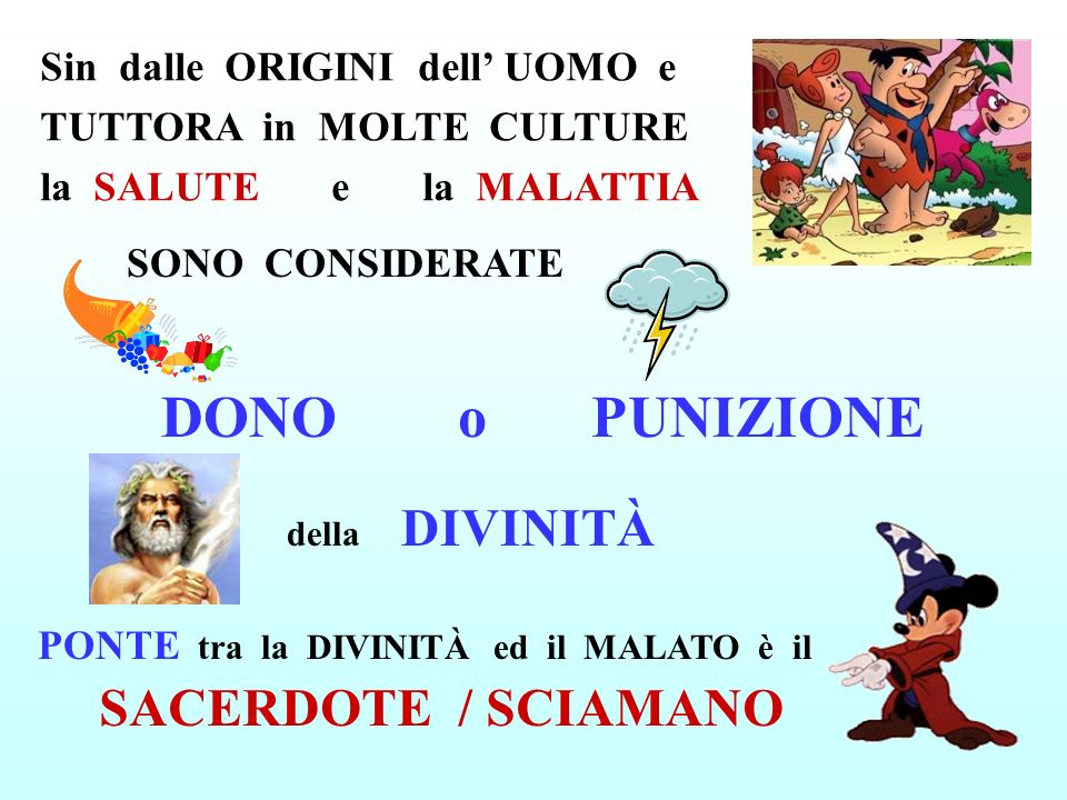 DONO o PUNIZIONE SACERDOTE / SCIAMANO