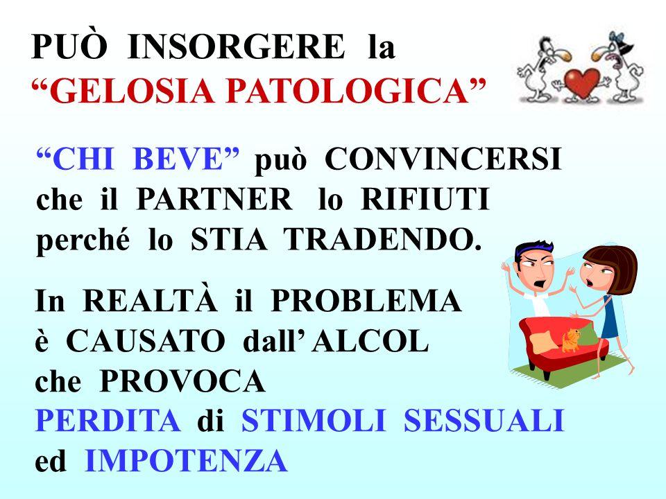 PUÒ INSORGERE la GELOSIA PATOLOGICA