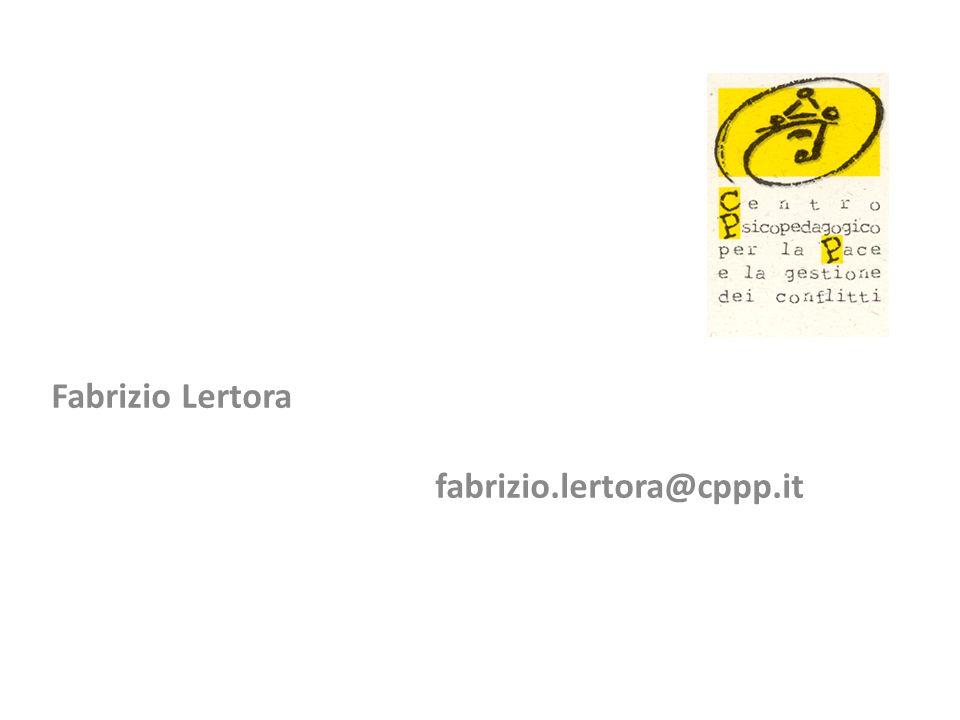 Fabrizio Lertora fabrizio.lertora@cppp.it