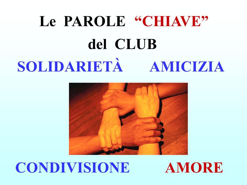 Le PAROLE CHIAVE del CLUB
