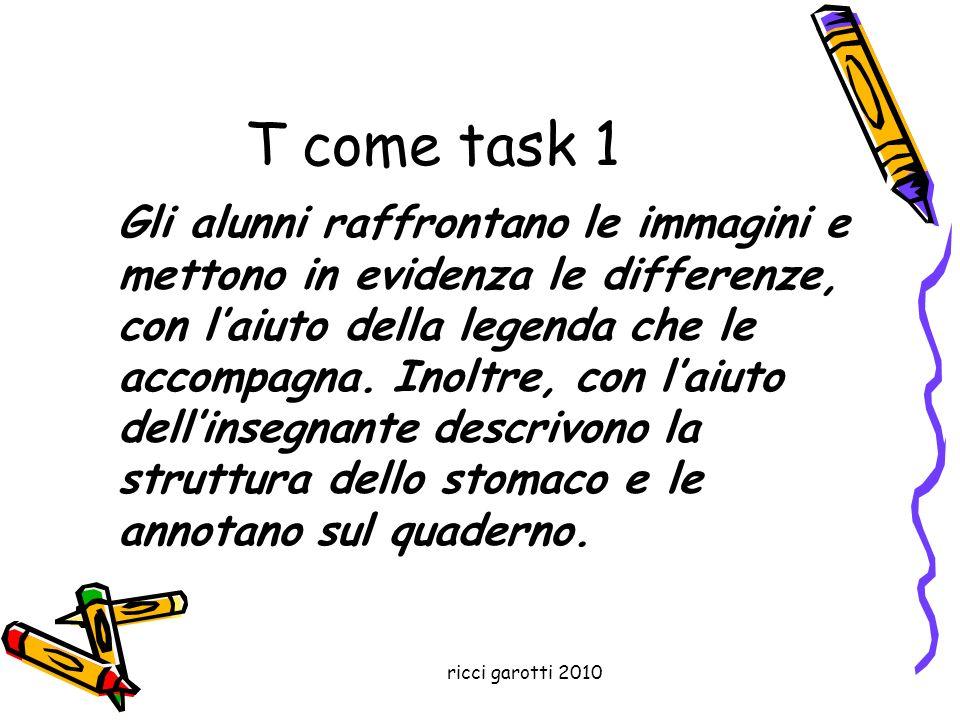 T come task 1