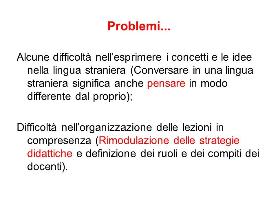 Problemi...