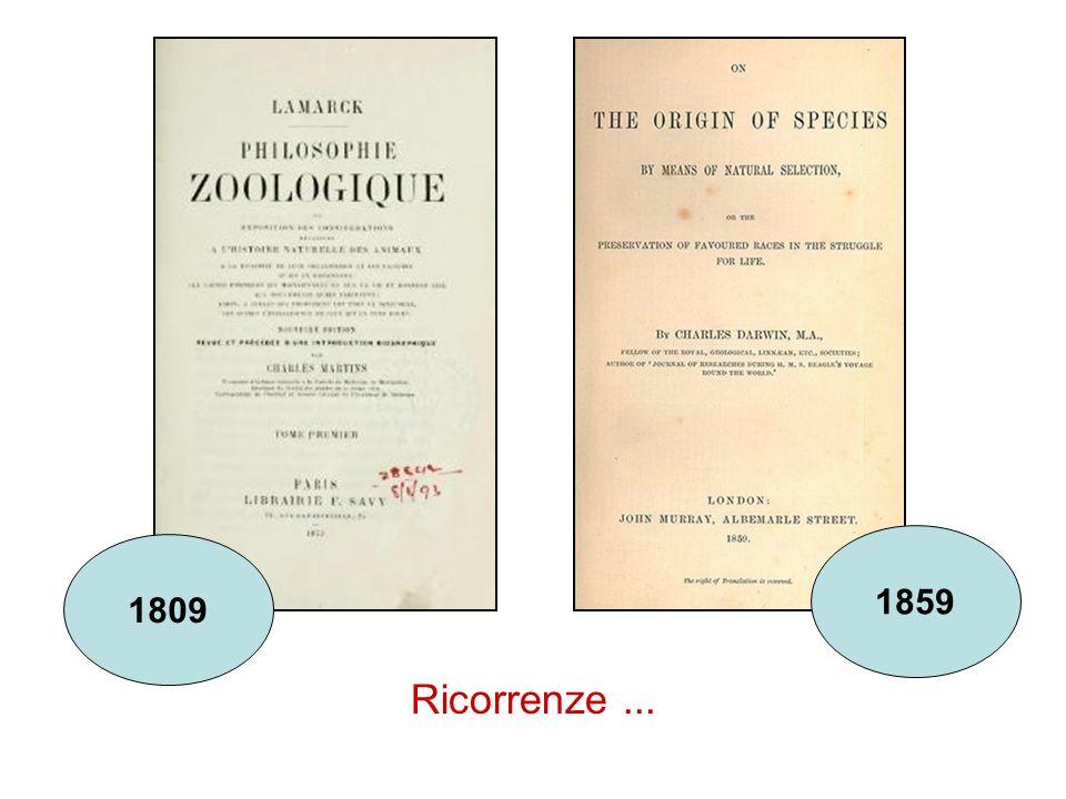 1859 1809 Ricorrenze ...