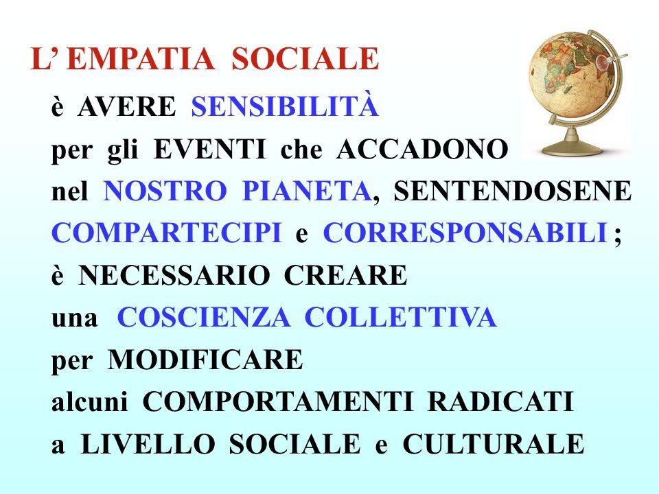 L' EMPATIA SOCIALE