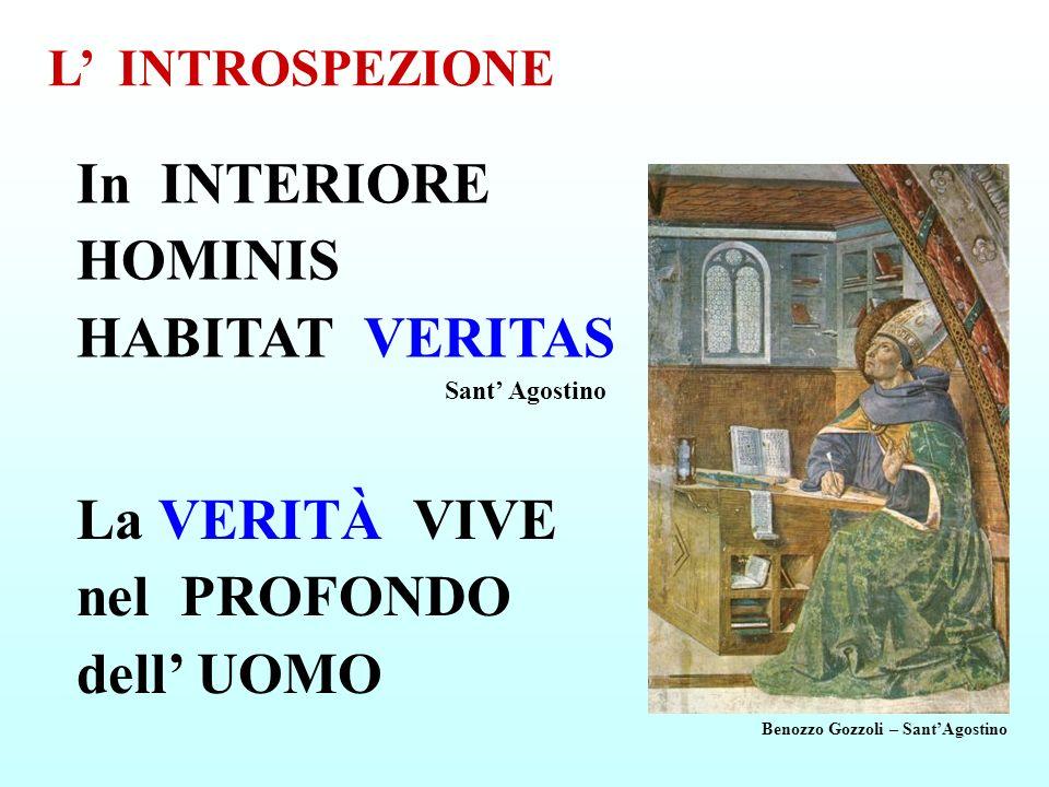 In INTERIORE HOMINIS HABITAT VERITAS