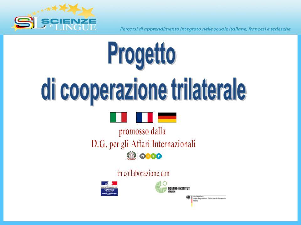 di cooperazione trilaterale D.G. per gli Affari Internazionali