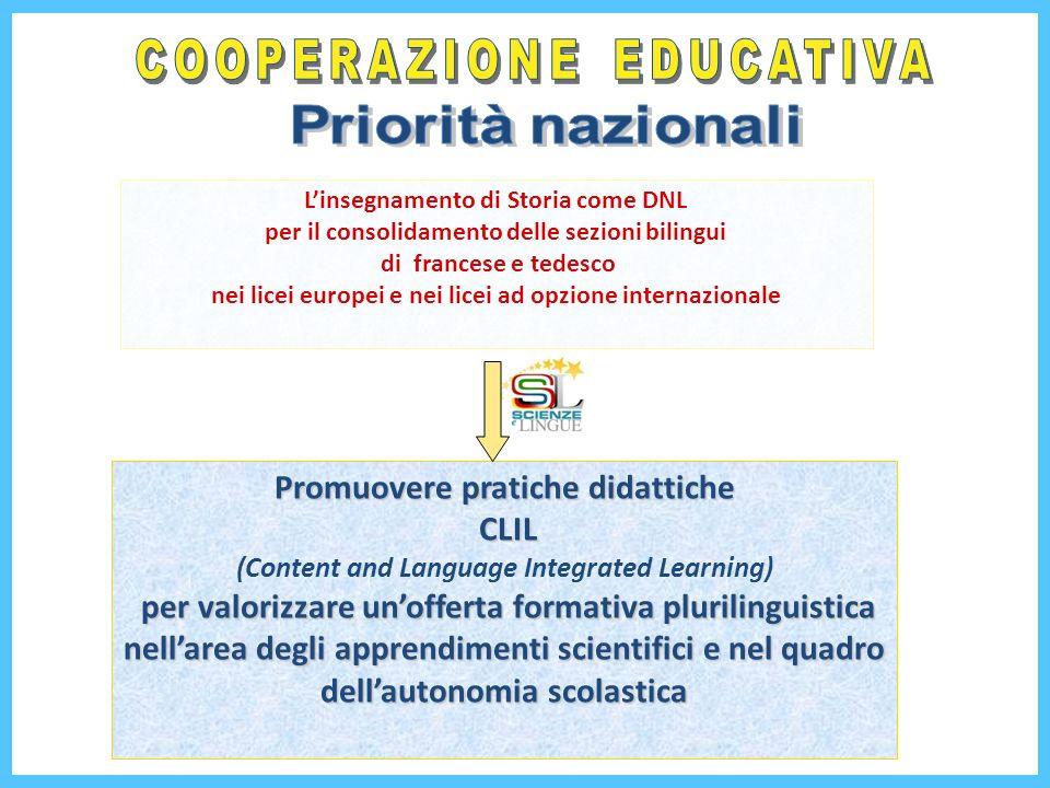 COOPERAZIONE EDUCATIVA