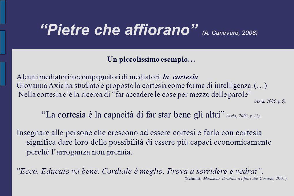 Pietre che affiorano (A. Canevaro, 2008)