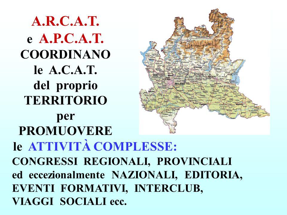 A. R. C. A. T. e A. P. C. A. T. COORDINANO le A. C. A. T