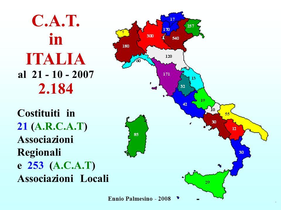 C.A.T. in ITALIA al 21 - 10 - 2007 2.184