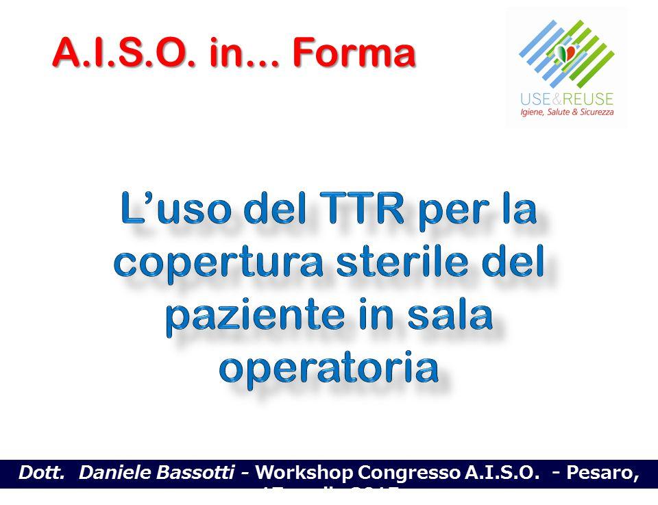 L'uso del TTR per la copertura sterile del paziente in sala operatoria