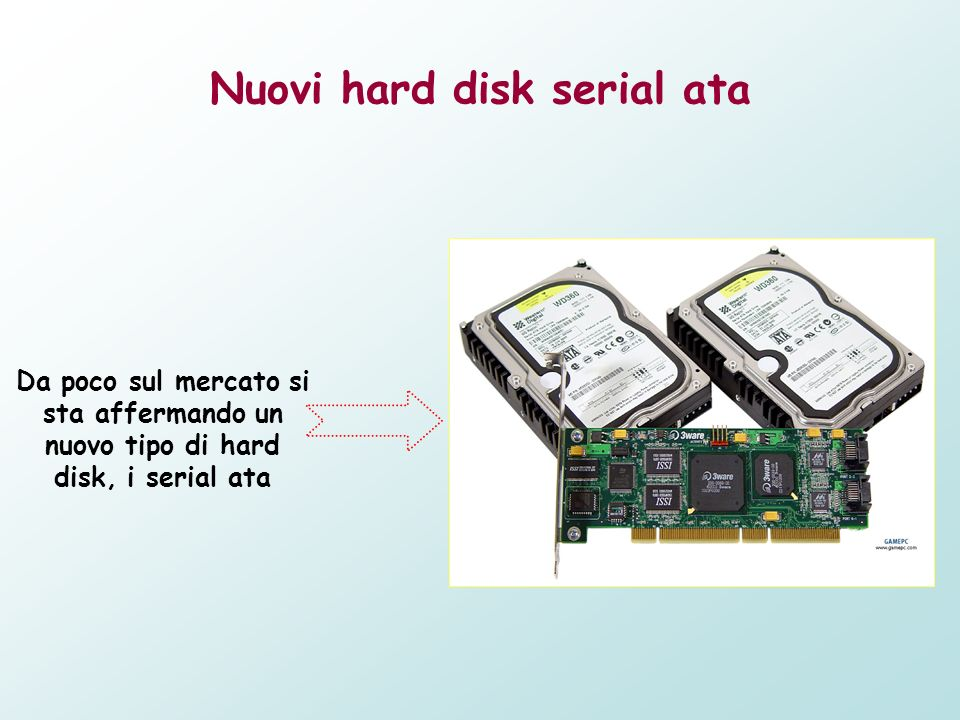 Nuovi hard disk serial ata