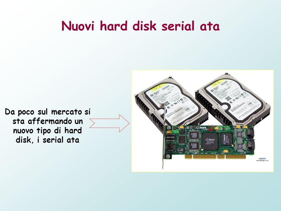 Nuovi hard disk serial ata