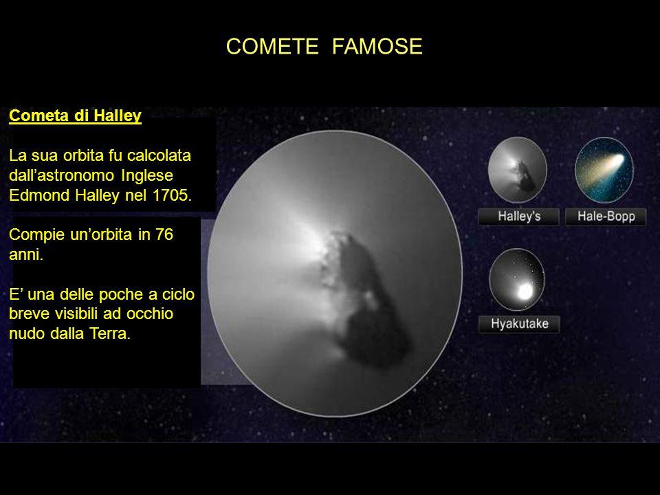 COMETE FAMOSE Cometa di Halley