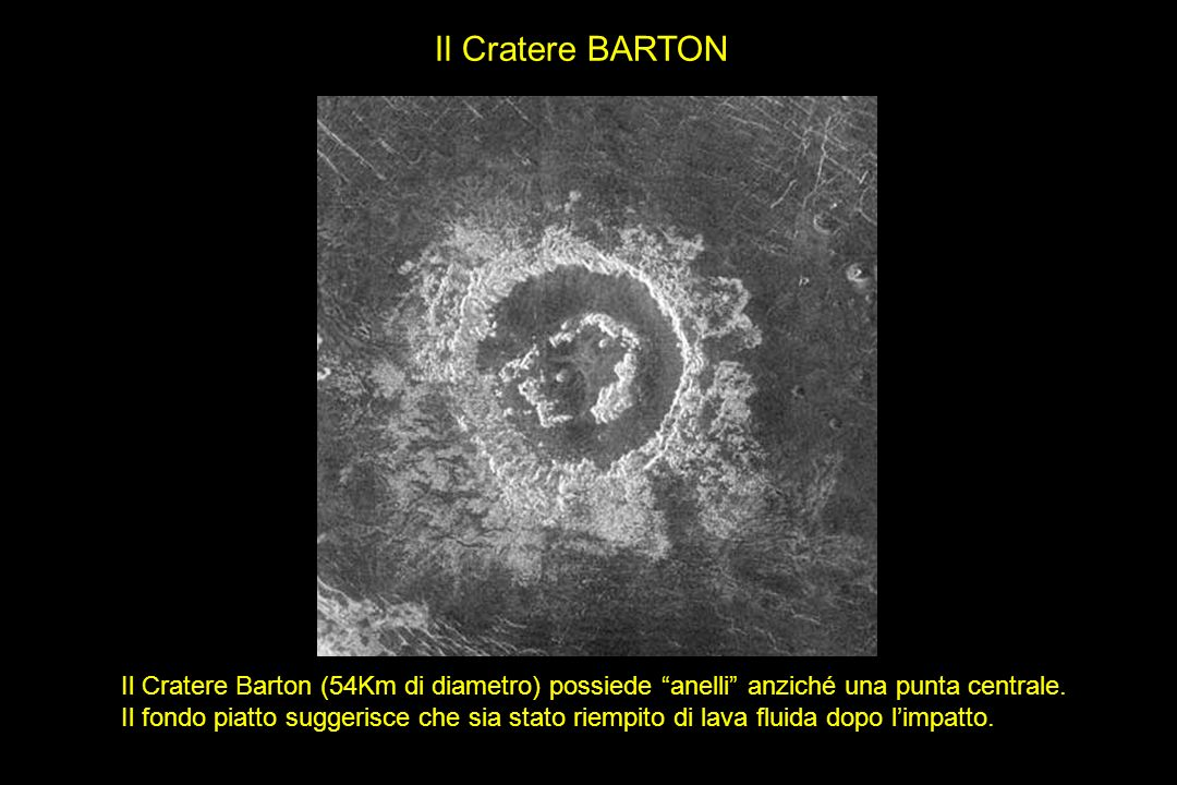 Il Cratere BARTON