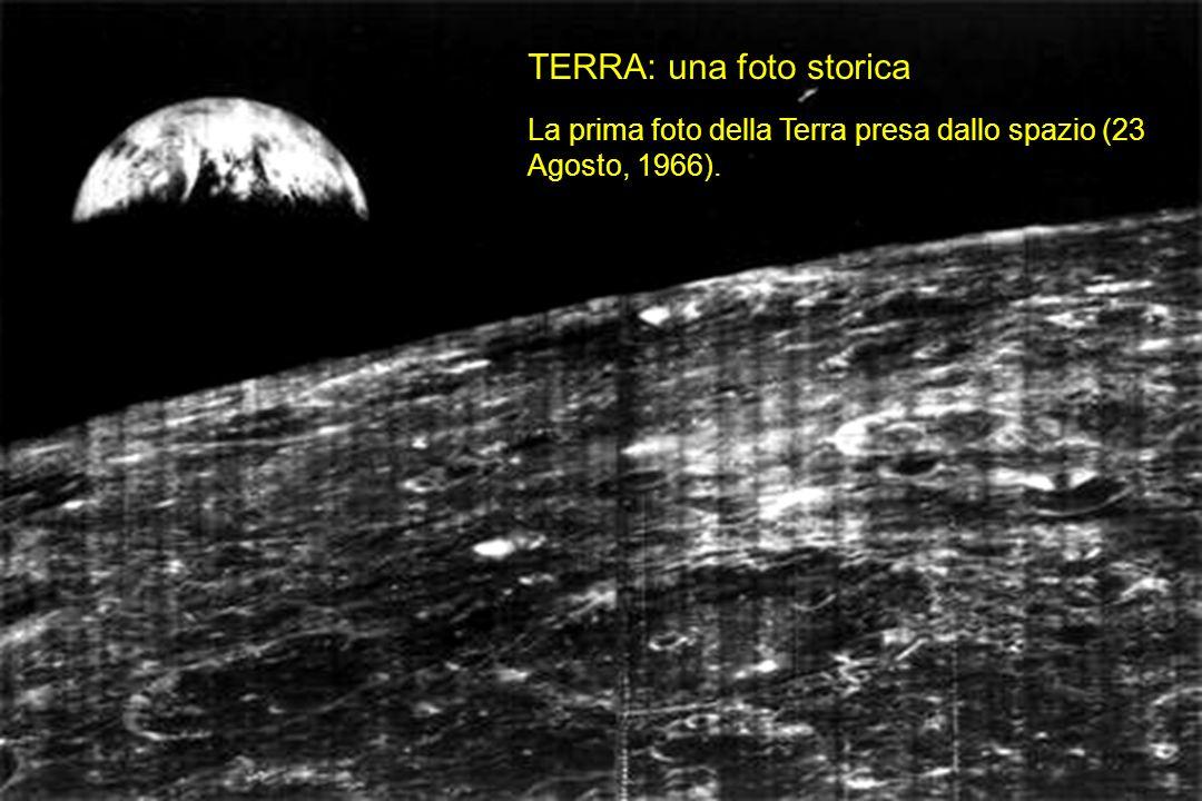 TERRA: una foto storica