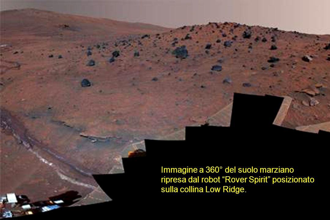 Immagine a 360° del suolo marziano