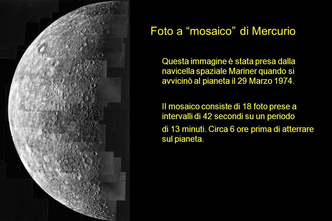 Foto a mosaico di Mercurio