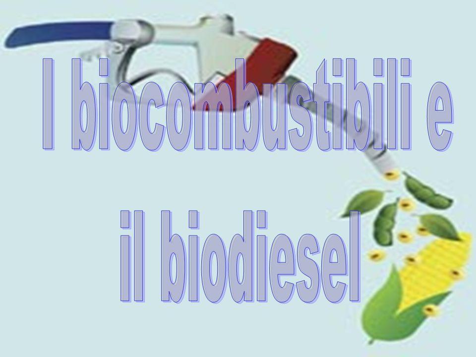 I biocombustibili e il biodiesel