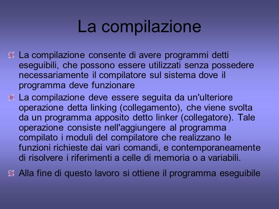 La compilazione
