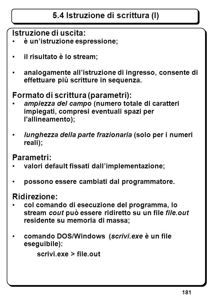 4.2 Espressioni di assegnamento (II)