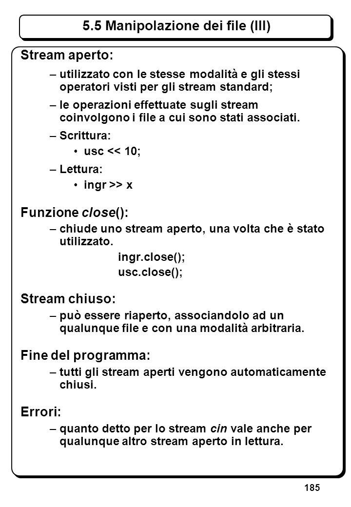 4.3 Espressioni aritmetiche e logiche (II)