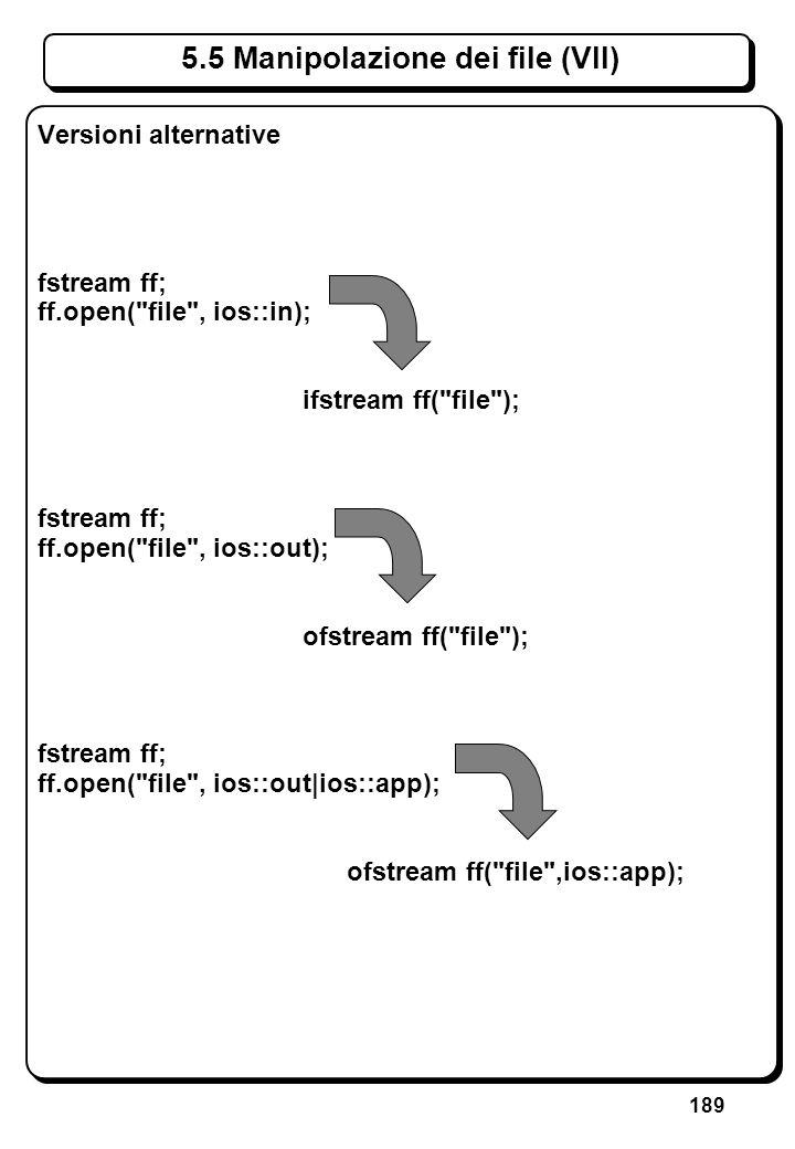 4.4 Operatore condizionale (I)