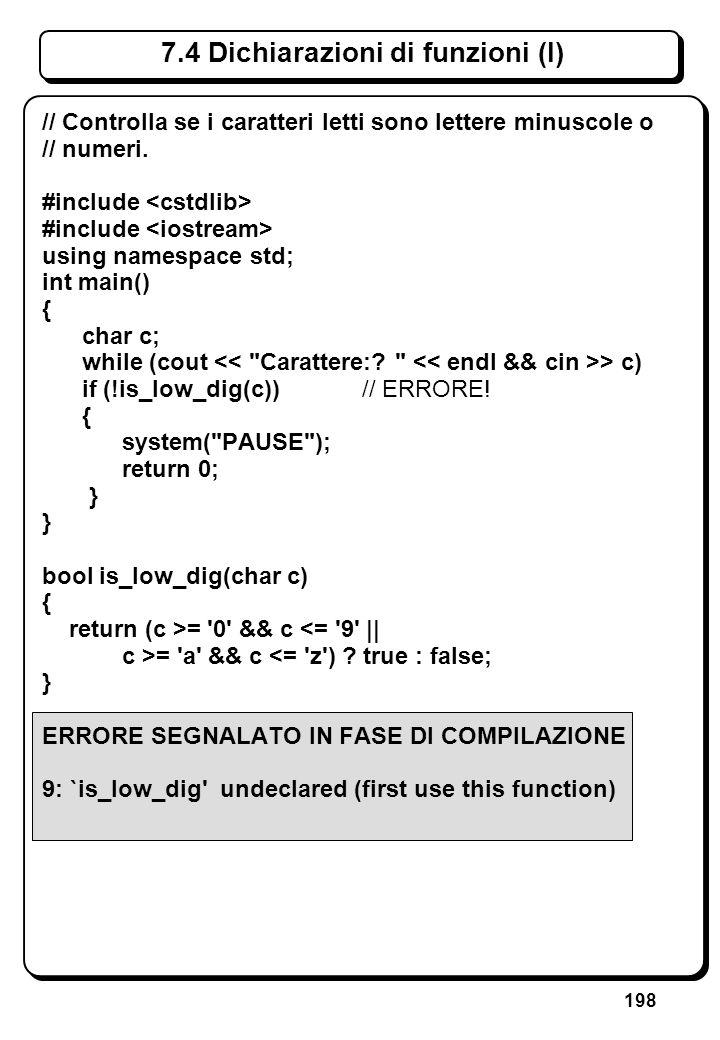 6.3.1 Istruzioni if (VII) // Scrive asterischi