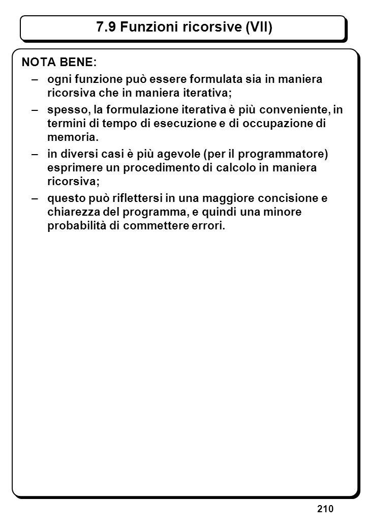 6.4.1 Istruzione while (I) // Scrive n asterischi, con n dato (ii)
